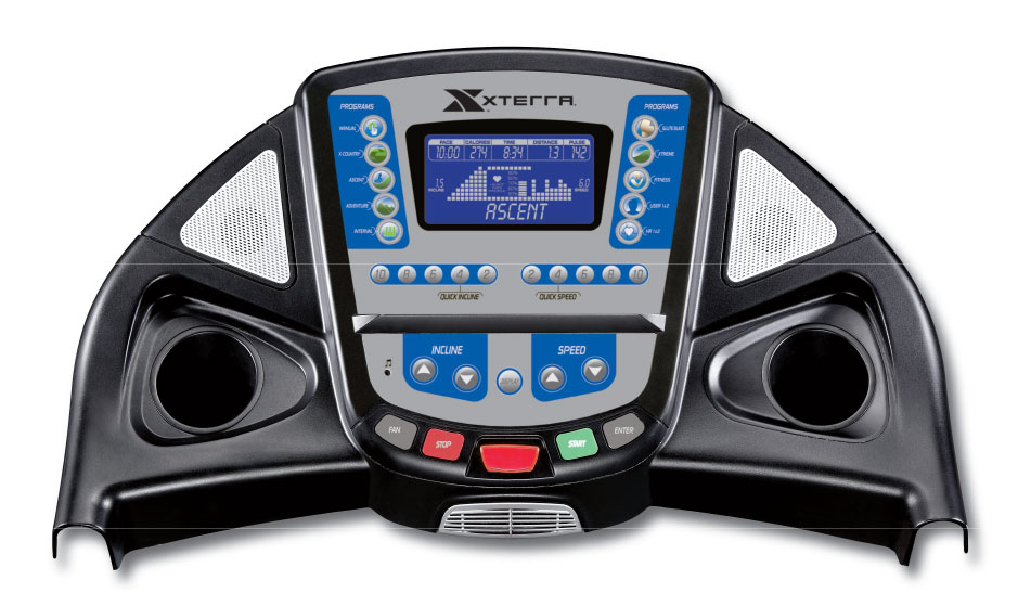 xterra tr3 0 treadmill manual